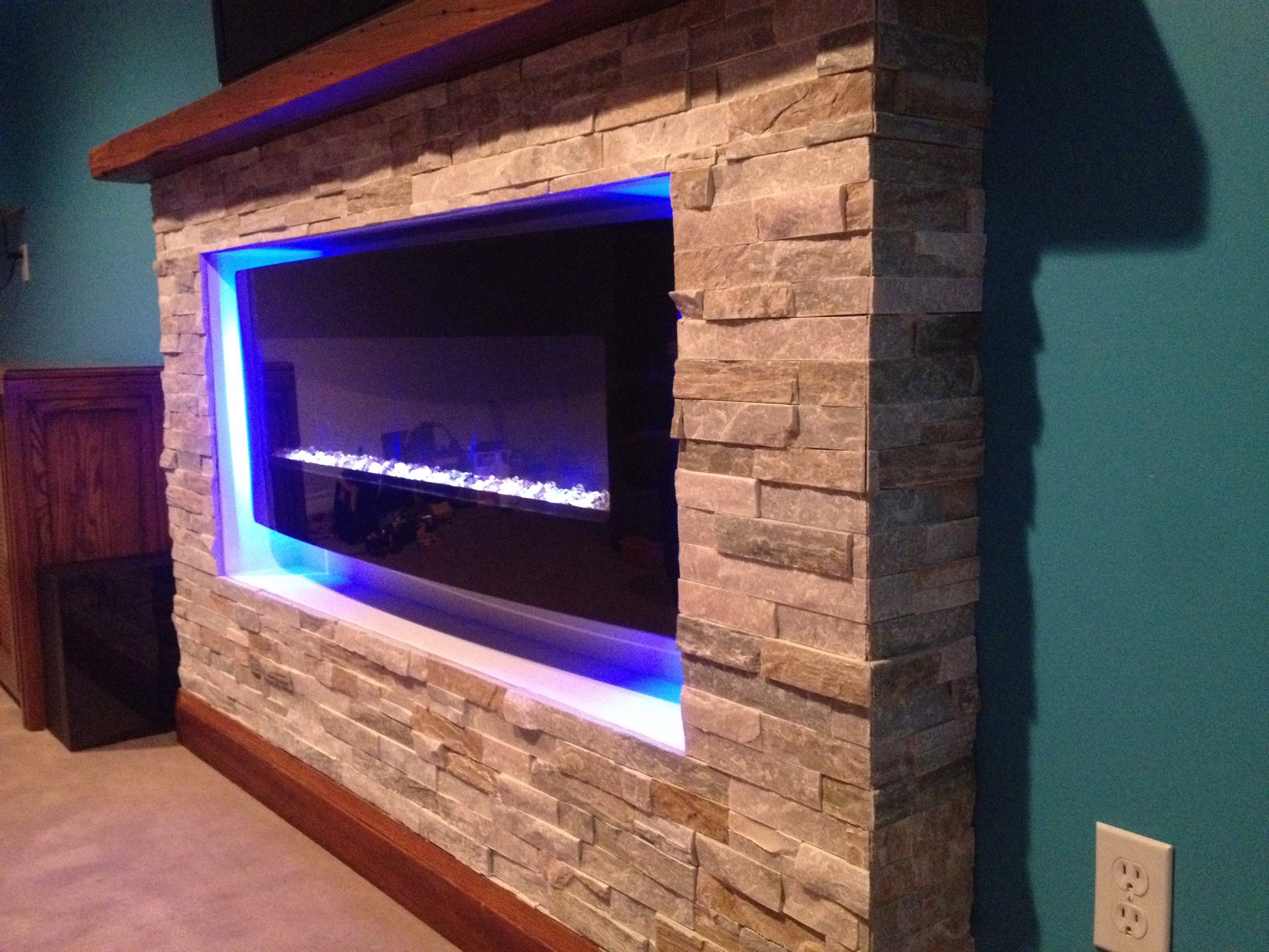 Electric Fireplace With Sound Fireplaces